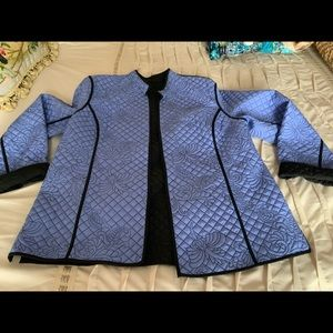 Jackets & Blazers - SOLD. Quilted jacket, revesible